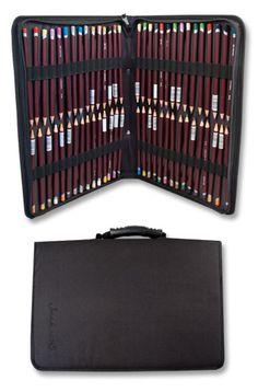 Jacksons : 120 Pencil Case : black nylon : holds 120 pencils : 60 loops  Omer De Serres