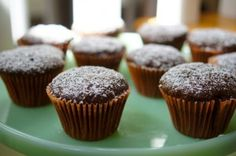 Send your kiddos to school with these Chocolate Zucchini Cupcakes for a mom approved Valentine's Day treat. Recipe on Mom's Kitchen Handbook
