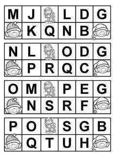 cartelas para bingo de letras educa o infantil alfabet karty pracy pinterest. Black Bedroom Furniture Sets. Home Design Ideas