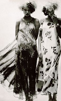 Helen Hogberg and Louise Despointes by Helmut Newton for Vogue Paris, May 1971