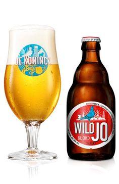 WILD JO Brouwerij De Koninck Antwerpen Belgium.