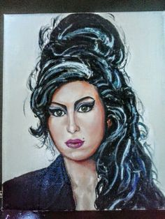 """""""Amy"""" oil on canvas 25x30 painted by Ariela Salcini"""