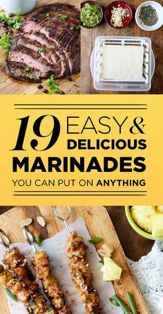 19 Easy And Delicious Marinades You Can Put On Anything