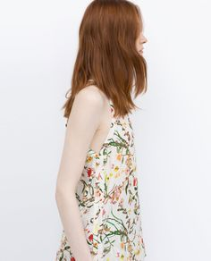 Image 2 of PRINTED TOP from Zara