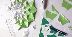 Japanese paper artist Kota Hiratsuka creates three-dimensional origami mosaics, a paper art which mixed origami and mosaic.