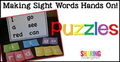 Making Sight Words H