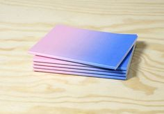 Ombré Notebooks.