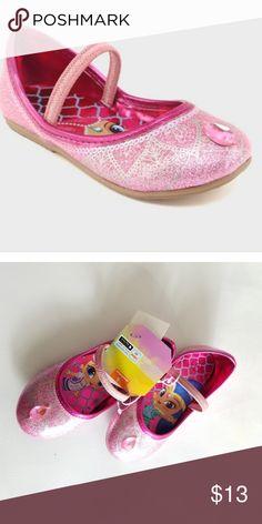 NWT Girls toddler kids shimmer  shine shoes-sz 9 de1e6976e