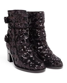 LAURENCE DACADE | Sequin Babacar Boots