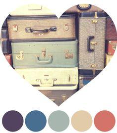 Vintage Color Schemes | vintage color scheme