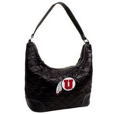 Utah Utes Quilted Hobo