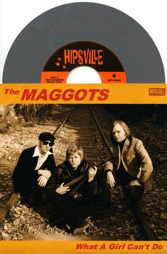 """The Maggots 2004 'What A Girl Can'T Do' Rare Sweden Garage-Rock 7"""" Grey Vinyl #GarageRock Check out all our vinyl at Rock On Collectibles: http://stores.ebay.com/Rock-On-Collectibles/Vinyl-LPs-Singles-/_i.html?rt=nc&_fsub=7421951&_sid=70220124&_trksid=p4634.c0.m14.l1513&_pgn=16"""