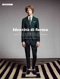Sven De Vries for Style Magazine by Letizia Ragno