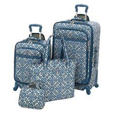 Waverly Luggage, Boutique 4-piece Luggage Set