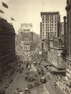 new york 1920's. places-as-they-used-to-be
