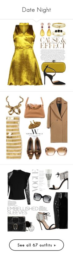 Date Night by rossperdicita on Polyvore featuring polyvore, fashion, style, Envi:, Bottega Veneta, Gianvito Rossi, Brigid Blanco, Jennifer Meyer Jewelry, clothing, chokerdress, ara, Marni, Lanvin, Balmain, Hermès, self-portrait, Topshop Unique, Giuseppe Zanotti, Gucci, Etro, Margot McKinney, contest, fashionset, multicolordress, AmiciMei, Vetements, Ermanno Scervino, Victoria Grant, Fendi, Valentino, Paula Cademartori, Plukka, embellishedsleeves, Manolo Blahnik, Roland Mouret, ADAM, Tom…