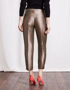 Metallic 7/8 Party Pants