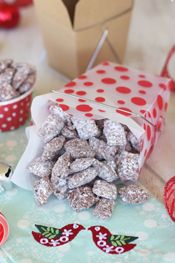 Chocolate Peppermint Chex Mix