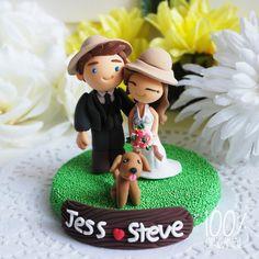 Custom Wedding Cake Topper Safari theme by TheRosemarryToppers, $160.00