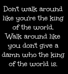 Be confident ladies!!!!