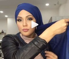 You want to make a hijab chic and elegant for every day? - You want to make a hijab chic and elegant for every day? Here& this beautiful hijab tutorial - Hijab Chic, Hijab Elegante, Turban Hijab, Turban Mode, Hijab Mode Inspiration, Turban Tutorial, Hijab Style Tutorial, Head Scarf Tutorial, Hijab Outfit