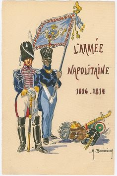the art of Henry Boisselier - Armchair General and HistoryNet >> The Best Forums in History Kingdom Of Naples, Empire, Royal Guard, Black Italians, Napoleonic Wars, French Artists, Military History, Warfare, Troops