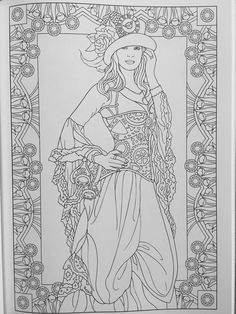Creative Haven Steampunk Fashions Coloring Book (Adult Coloring)