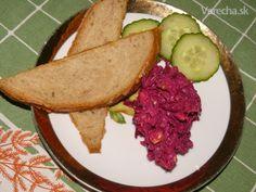 Pochúťka z cvikly na raňajky, večeru i pre návštevu