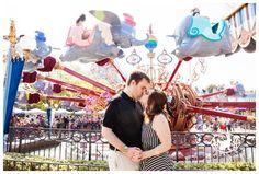 Olivia + Chris : Disneyland Engagement Photo Session