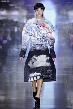 Fashion-Trends-For-Women-2014- #megasleeves #prints #midiskirts