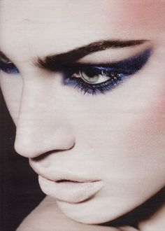 Harper's Bazaar UK, September 2009,   Makeup: Aaron De Mey