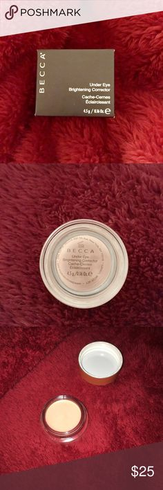BECCA Under Eye Brightening Corrector Brand new. Brightening cream for under eye darkness. BECCA Makeup Eye Primer