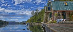 Paddler's Inn- North Vancouver Island kayak hotel