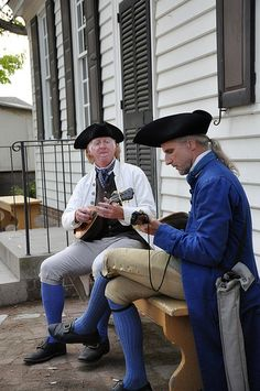 Colonial Williamsburg musicians