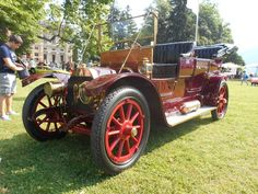 1908 Lancia 12 HP Tipo 51 Alfa Double Phateon bodied by Miller Brothers