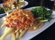Chicken parma from The Grand Hotel, Sydney