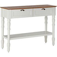 Buy Collection Addington 2 Drw 1 Shelf Two Tone Console Table at Argos.co.uk…