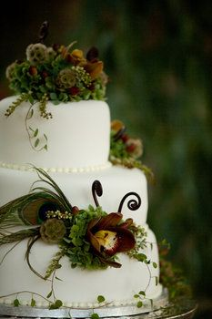 #Rustic Wedding Cake ... Wedding ideas for brides, grooms, parents & planners ... https://itunes.apple.com/us/app/the-gold-wedding-planner/id498112599?ls=1=8 … plus how to organise an entire wedding, without overspending ♥ The Gold Wedding Planner iPhone App ♥