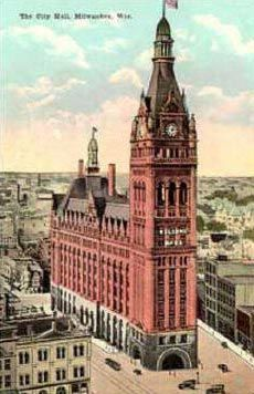 Milwaukee City Hall  I remember  it so clearly even after 60 years....