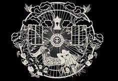 Shear Beauty. Cut Paper Art By Lorraine Nam. - if it's hip, it's here