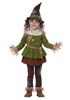 California Costumes Scarecrow Wizard Of Oz Child Toddler Halloween Costume 00179 Witch Costume Adult, Witch Costumes, Holiday Costumes, Girl Costumes, Dance Costumes, Party Costumes, Costume Ideas, Best Toddler Costumes, Costumes For Teens