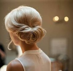 Simple chignon.... Classic