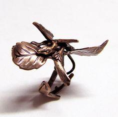 little leaf dragon ring!