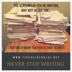 Finish a new screenplay? Time for in-depth consultation? Check out my services.