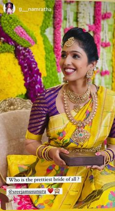 Hand Work Blouse Design, Stylish Blouse Design, Fancy Blouse Designs, Bridal Blouse Designs, Lehenga Saree Design, Pattu Saree Blouse Designs, Bridal Sarees South Indian, Indian Bridal Fashion, Saree Wearing Styles