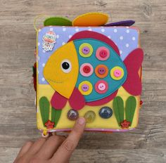 A lot of disappointment in place of Lust - is learning to sew so difficult?I first attempted to instruct myse Sensory Blocks, Sensory Activities, Dinosaur Party Favors, Owl Wings, Activity Cube, Baby Sensory, Montessori Toys, Pattern Blocks, Baby Patterns