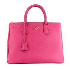 Prada Classic Saffiano Pink Bag