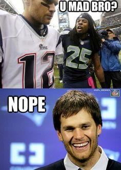 Tom Brady always gets the last laugh.