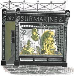 Ravilious, Eric - Submarine Engineer