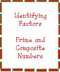 prime and composite numbers worksheet 4th grade pdf